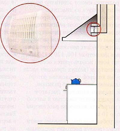 центробежный вентилятор в кухонной вытяжке
